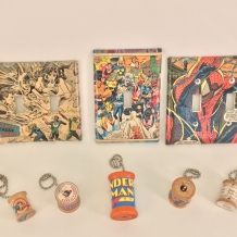 Lightswitch Covers and Fan Pulls