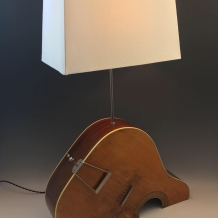 """Hollow Body"" Guitar Lamp"