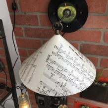 The Beatles themed Wall Sconce