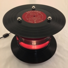 Red Records Lamp