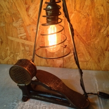 Antique Sewing Pedal Lamp