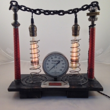 """Steampunk Circus"" Lamp"