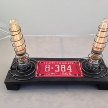 Tiny License Plate Lamp