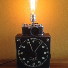 1958 Darkroom Timer Wall Sconce