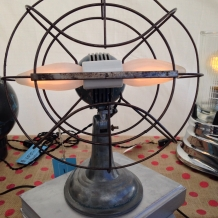 Mid-Century Fan Lamp