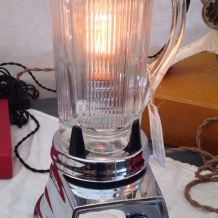 """Margarita Time"" Vintage Blender Lamp"