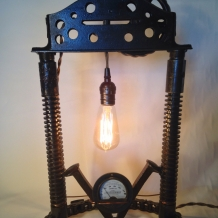 """Art Deco Tower"" Lamp"
