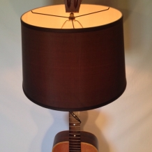 """Acoustic Session"" Guitar Lamp"