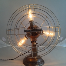 Large Fan Lamp