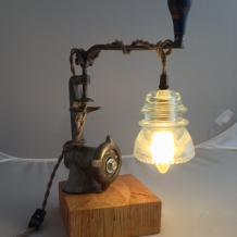 """Daily Grind"" Lamp"