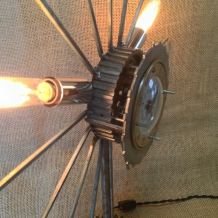 """Atomic Feelings"" Sunburst Lamp"