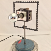 Tiny Traveler Camera Lamp