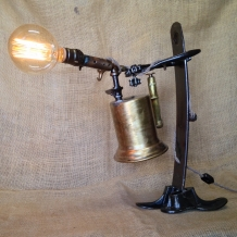 """Blue Collar"" Lamp"