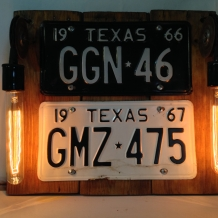 """""""Lone Star Lights"""" Wall Sconce"""